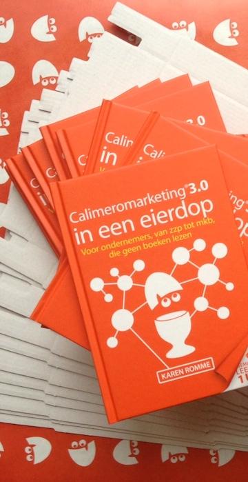 Calimeromarketing 3.0 in een eierdop relatiegeschenk ondernemers mkb zzp