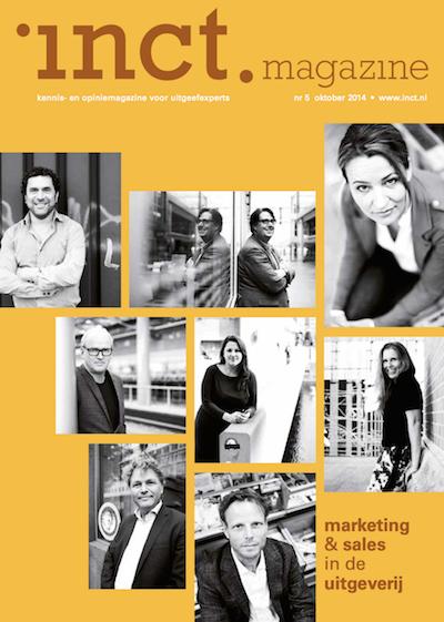 cover inct.magazine oktober 2014 over inct.spiratie waar Karen Romme  de closing keynote deed kopie