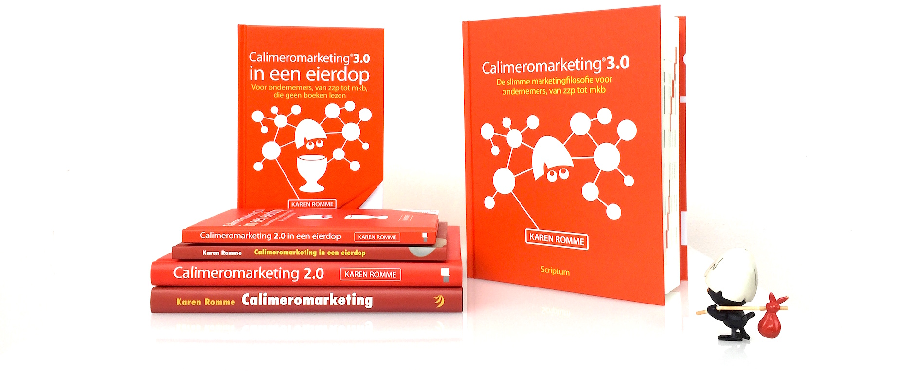 Calimeromarketing 3.0 van karen romme marketing voor zzp